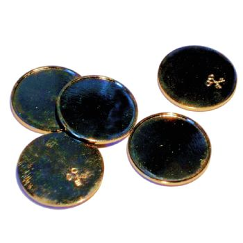 Metal Token 18mm Recess